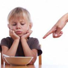 disagio alimentare nell'infanzia