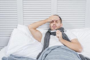 stare a letto con influenza